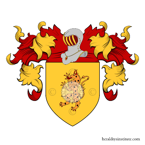 Coat of Arms of family Begno o Begliomini