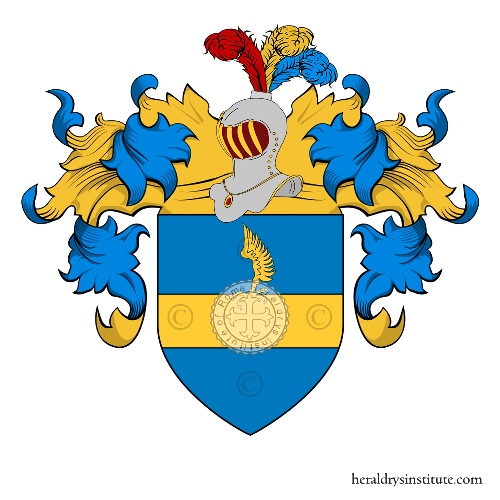 Coat of Arms of family Barnaba (Campania)