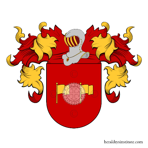 Coat of Arms of family Lafont