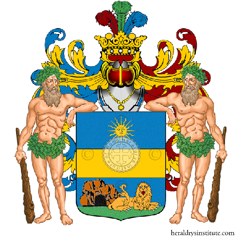 Coat of Arms of family Bersanetti