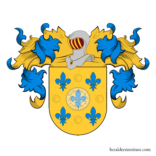 Coat of arms of family Gomez
