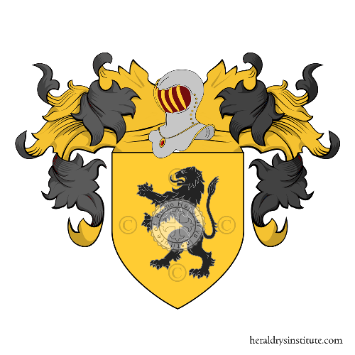 Coat of Arms of family Leone (Sicilia)