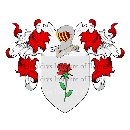 Coat of Arms of family Tessaroli