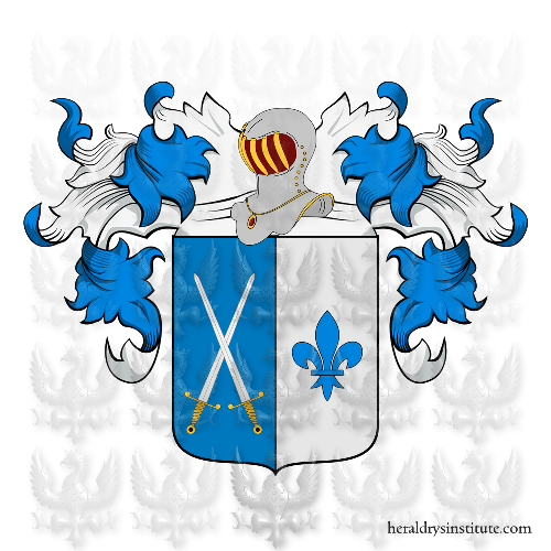 Coat of Arms of family Lisi (de) o Lisa (Messina)