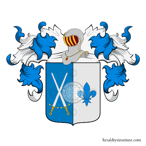 Familien-Wappen Lisi (de) o Lisa (Messina)