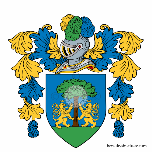Coat of Arms of family Lisi o Lisa
