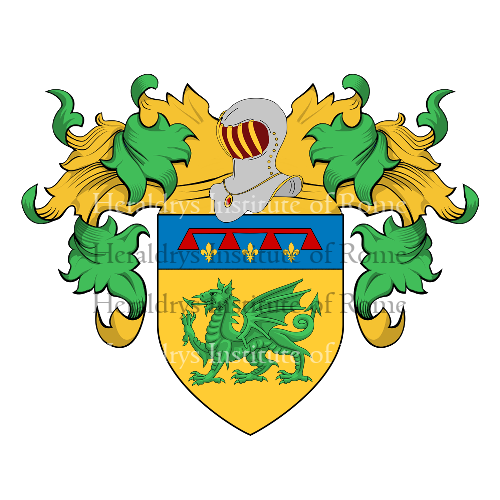 Coat of arms of family Ansaldi