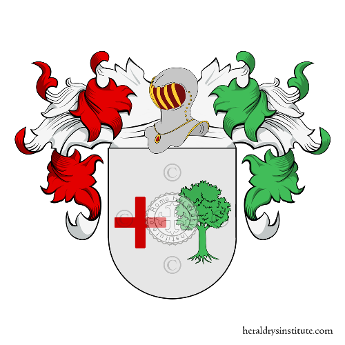 Coat of Arms of family Mizael