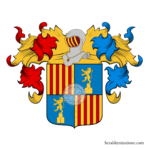 Coat of Arms of family Gozzoni o Cozzoni
