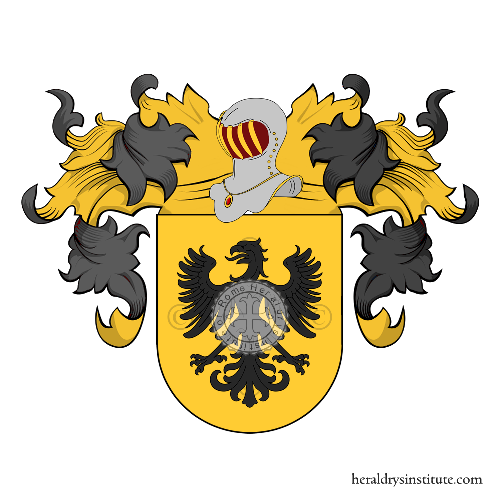 Coat of Arms of family Aguilera