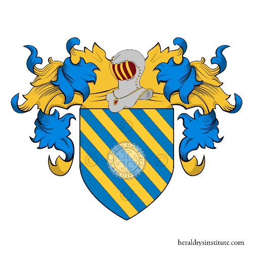Coat of Arms of family Bove (Fossano)