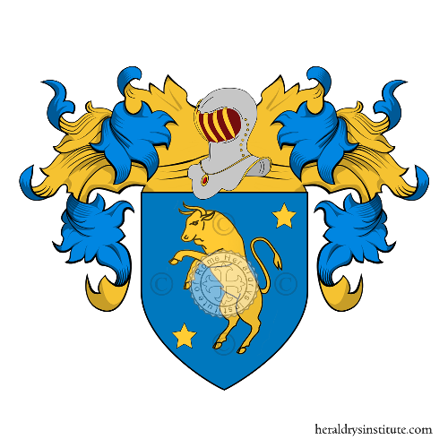 Coat of Arms of family Bove (Treviso)