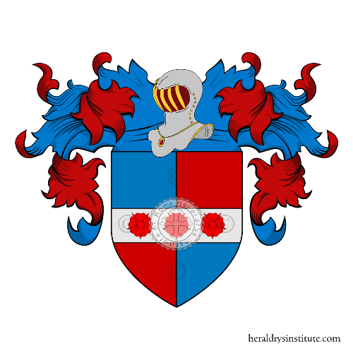 Coat of Arms of family Bove (dal) (Treviso)