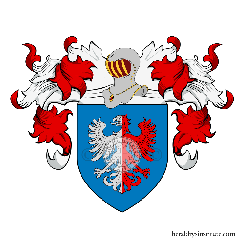 Coat of Arms of family Romanzi, Romanzo o Romanzini