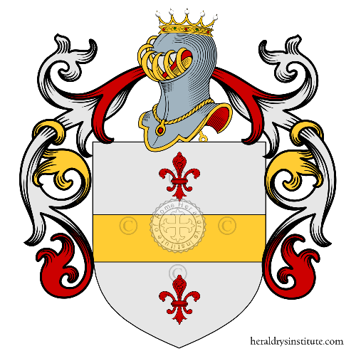 Coat of Arms of family Castaldo o Costoldo (Trieste, Venezia)