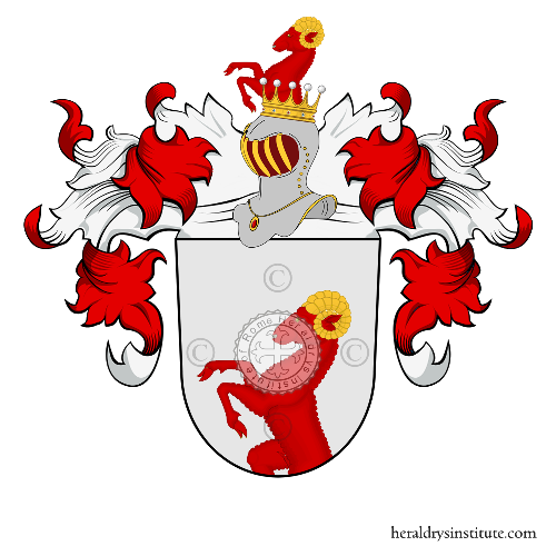 Coat of Arms of family Troyer zu Thurn und Aufkirchen