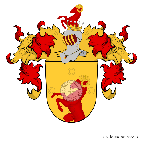 Coat of Arms of family Troyer zu Kitzbüchl