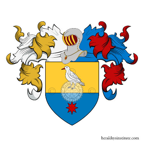 Coat of Arms of family Barbolini o Barbolani