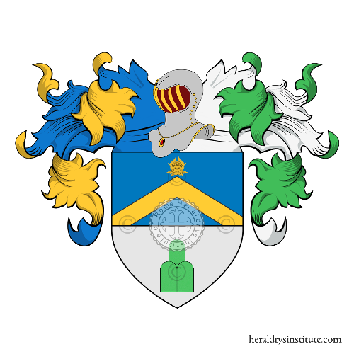 Coat of Arms of family Angelieri o Angeloro