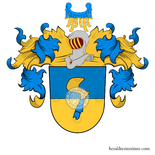 Coat of Arms of family Haman (Ingolstadt)
