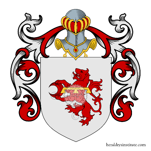 Coat of arms of family Ungaro