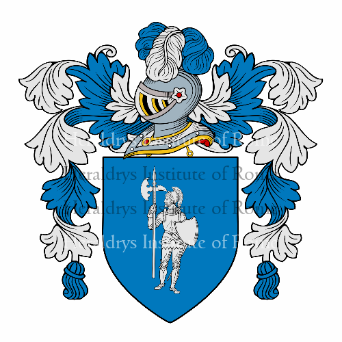 Coat of Arms of family Corazza