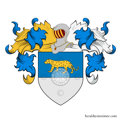 Coat of Arms of family Lucca o Luca (Venezia)