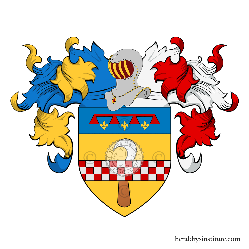 Coat of Arms of family Ronchi (Bologna)