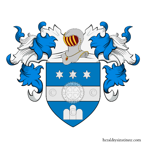 Coat of Arms of family Ronchi, Ronghi o Ronch (da)