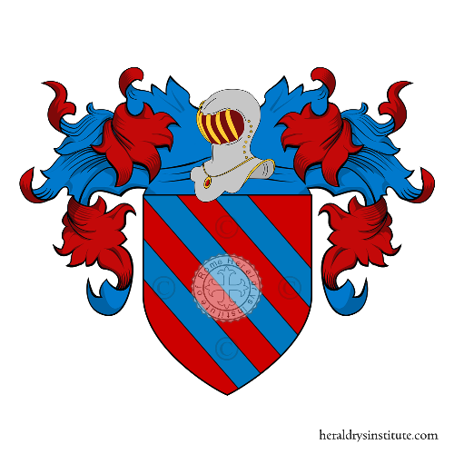 Coat of Arms of family Salerno (Cremona)