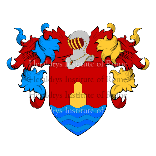 Coat of Arms of family Salerno (Monte San Giuliano)