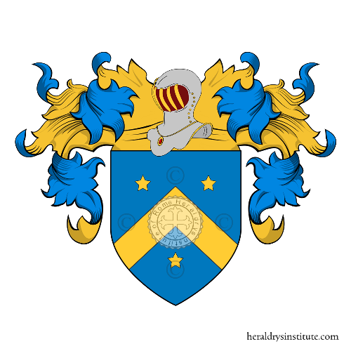 Coat of Arms of family Salerno (Verona)