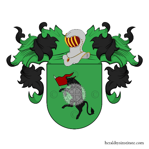 Coat of Arms of family Salto