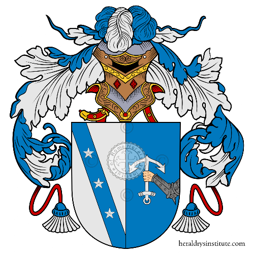 Coat of arms of family Ferraz