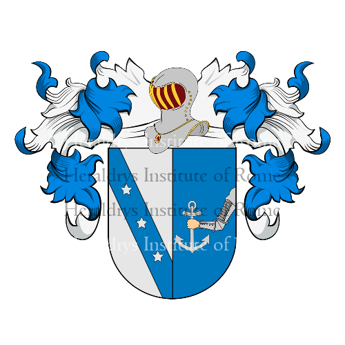 Coat of arms of family Ferraz - Aragón