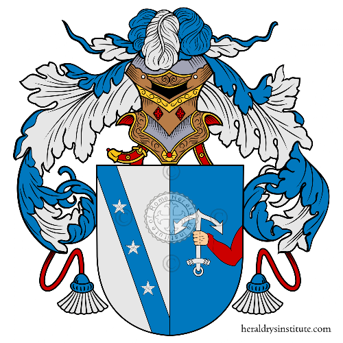 Coat of arms of family Ferrazza