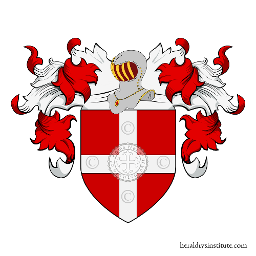 Coat of Arms of family Guenel ou Guenal