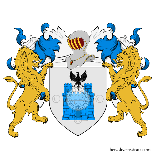 Coat of Arms of family Castelli