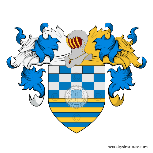 Coat of Arms of family Fulco o Folco (Sicilia - Calabria)