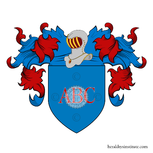 Coat of Arms of family Abici o Babici