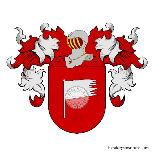 Coat of Arms of family Anzola