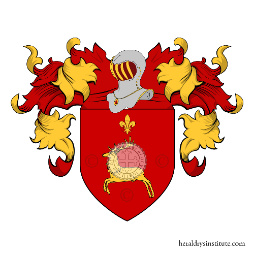 Coat of Arms of family Corredi