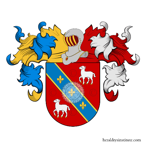 Coat of Arms of family Carneiro