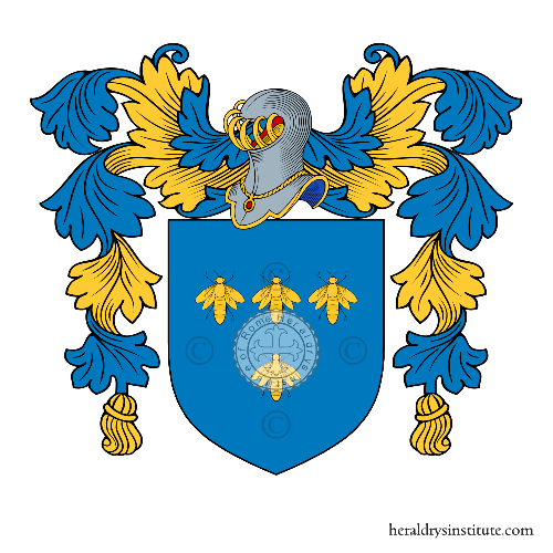 Coat of Arms of family Fuccio (di)