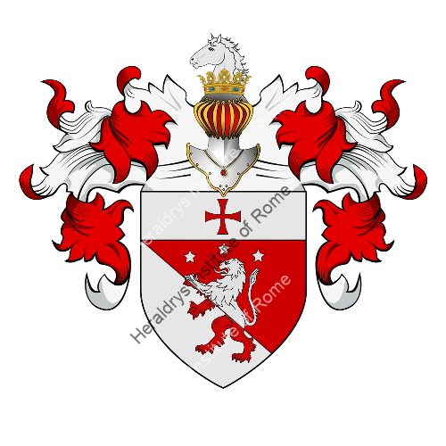 Coat of Arms of family Adelardi, Bulgari, Marcheselli o Marchesiello
