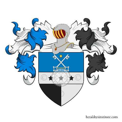 Coat of Arms of family Cavrina