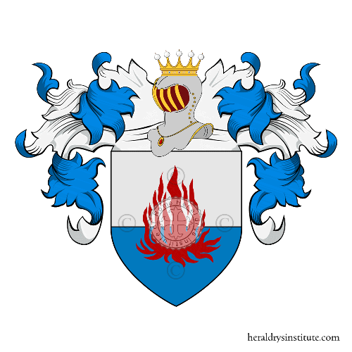 Coat of Arms of family Corti, Preziani o Costantini (Toscana)
