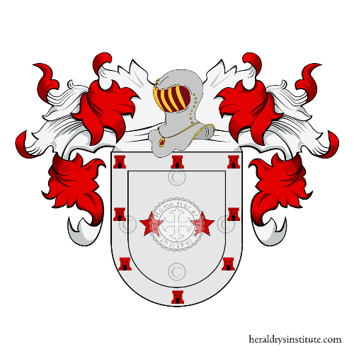 Coat of Arms of family Noia