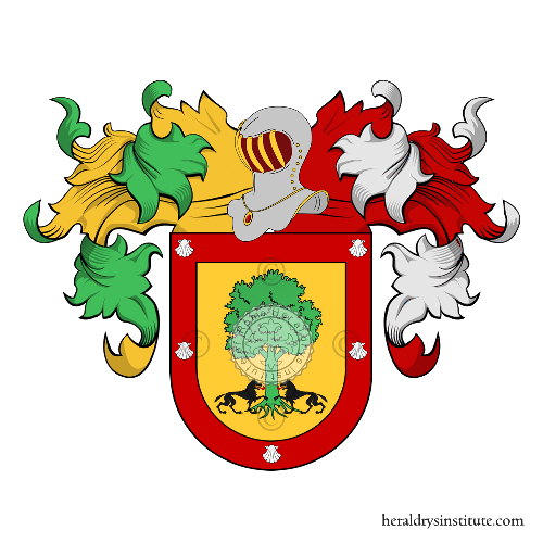 Coat of Arms of family Peixoto