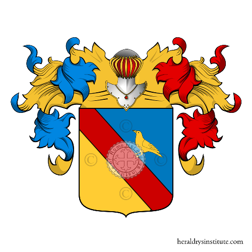 Coat of Arms of family Merlo